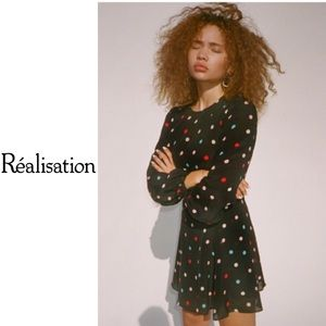 Realization Par 'Elke' Post Modern LS Mini Dress